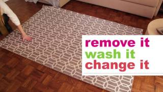 Ruggable: The 2-piece Rug System