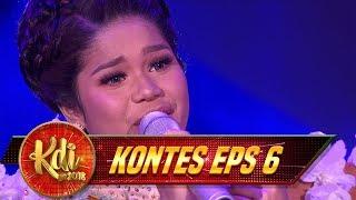 Lagunya Bikin Bergoyang! Delima Menyanyikan Lagu [ZAPIN MELAYU] - Kontes KDI Eps 6 (13/8)