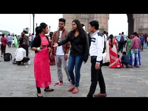 HOT GIRL FAKE CBI OFFICER PRANK GONE WRONG   BY Oye It's Prank Prank In INDIA