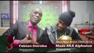 Best New Artist ZMA 2014 Muzo AKA Alphonso Interview