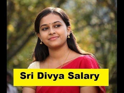 Actress Sri Divya Salary 2014 | Tamil Actress Salary 2014 | Telugu Actress Salary 2014
