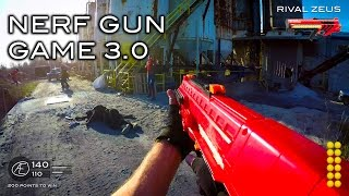 Nerf meets Call of Duty: Gun Game 3.0 | First Person in 4K!