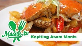 Kepiting Asam Manis | Resep #163