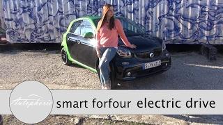smart ForFour electric drive Test / 60 kW Elektro-Stadtauto - Autophorie