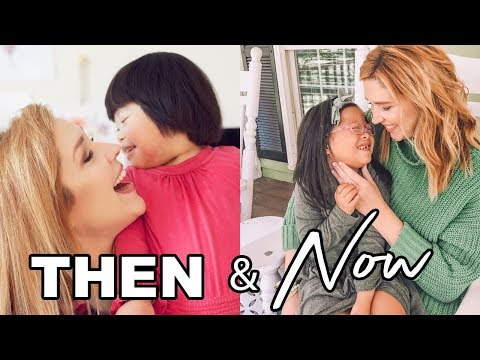 Rosie THEN and NOW | China Adoption Update