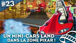 C'EST L'EPISODE DE LA VITESSE ! CARS x RC RACER ! Planet Coaster #23 - HD