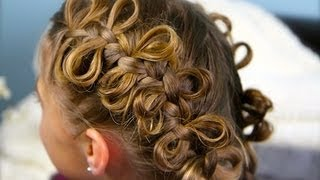 The Bow Braid   Popular Hairstyles   Cute Girls Hairstyles