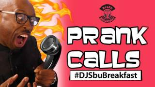 DJ Sbu Breakast PRANK CALLS - Gambling Problems