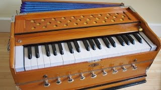 Learn a best technique to play any song on harmonium