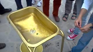 Ecuador At The Equator - Water Demonstration - Coriolis Effect