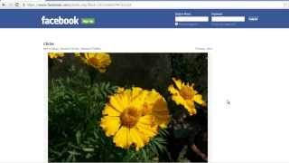 How to Download Facebook Photos in their Original Resolution?