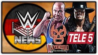 Lucha Underground bei TELE 5! Update zu Kurt Angle + mehr! (Wrestling News Deutsch/German)