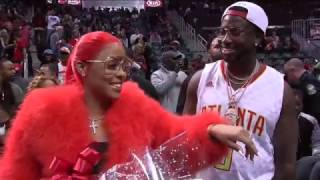 Gucci Mane Proposes During Kiss Cam in Atlanta   11.22.16