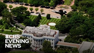Jet conducts fly over White House for Polish president's visit