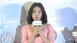 宋慧喬Song Hye Kyo(송혜교) Sulwhasoo Opening Ceremony In Hong Kong 20180829
