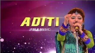 Aditi Munshi   Chol Chol Sundori   Kirtan Song   Grand Finale