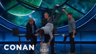 Jared Padalecki's Birthday Keg Stand  - CONAN on TBS