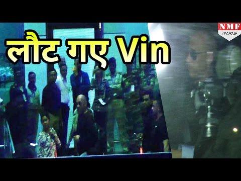 Xxx Mp4 India में XXx का Promotion खत्म कर USA लौटे Vin Diesel 3gp Sex