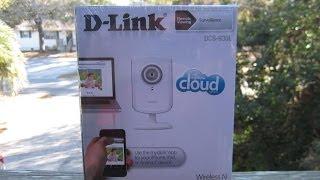 D-Link DCS-930L Wireless Surveillance Camera- Unboxing & Installation - Jan. 25, 2014
