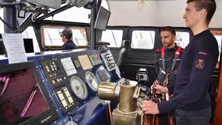 Nave Vespucci 2018, allievi a bordo