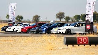 1/2 Mile Top Speed Shootout! - Tuner Battle Week 2014 Ep. 3