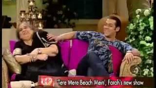 Salman Khan on Tere Mere Beach main