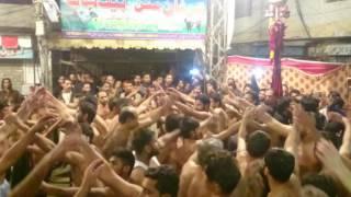 4 Jamadi ul Sani  Khan Tassadaq Khan New Noha 2016 imam bargah qasray Sajjad a s Rawalpindi