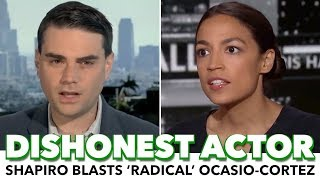 Ben Shapiro Blasts Dem Socialist Ocasio-Cortez For 'Radical' Platform