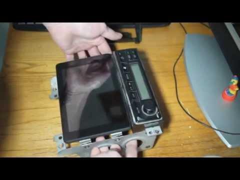 Установка планшета вместо магнитолы