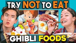 Try Not To Eat Challenge - Studio Ghibli Foods | People Vs. Food
