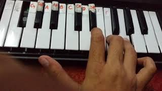 How to play Baarish on Casio Sa 77 by Aayushi Khurana