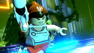 LEGO Dimensions 🎮 Portal 2 Level Pack story gameplay!