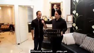 تقلید صدای سیاوش و معین - حسن ریوندی