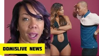 TI EXPOSED for CHEATING by Wfie Tiny, Now She's Coolin with Floyd Mayweather
