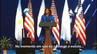 Michelle Obama fala sobre sexismo e vídeo do O Olho ilustra sua fala