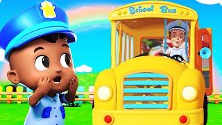 Wheels On The Bus |  Ultra HD 4K - Nursery Rhymes | Little Amy - Baby Songs By  Bundle Of Joy