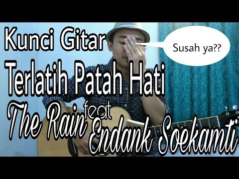 Belajar Kunci Gitar Terlatih Patah Hati ( The Rain Feat Endank Soekamti ) - VWgitarkul