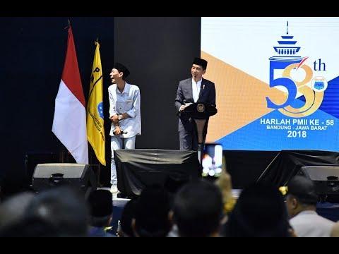 Xxx Mp4 Jokowi Hadiri Peringatan HARLAH PMII Ke 58 Di Bandung 3gp Sex