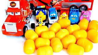 Cars 3 Toys Vehicles for Kids Open Toys Surprise Nursery Rhymes
