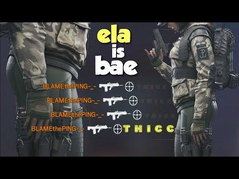 Xxx Mp4 Ela Is Bae Rainbow Six Siege 3gp Sex