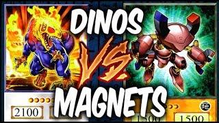 MAGNET WARRIORS vs DINOSAURS! (Yugioh Roleplay Deck Duel!)