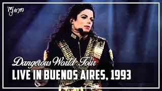 LIVE IN BUENOS AIRES, 1993 - Dangerous World Tour (Full Concert) [60FPS] | Michael Jackson