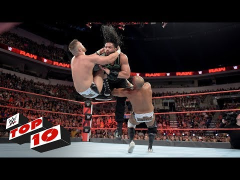 Xxx Mp4 Top 10 Raw Moments WWE Top 10 July 2 2018 3gp Sex