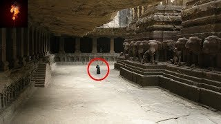 The Mind Boggling Kailash Temple