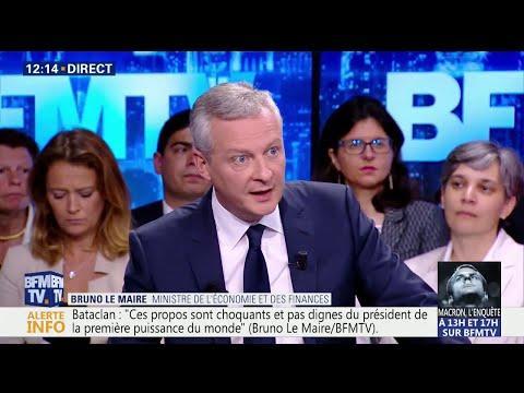 Xxx Mp4 Fête à Macron Pour Bruno Le Maire Il Ne Faut Pas Surestimer La Mobilisation 3gp Sex