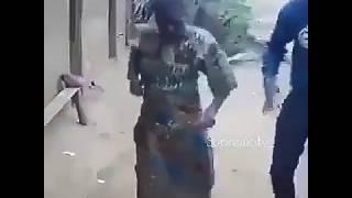 Bibi akicheza Ngoma ya Darasa