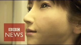 'Animal plus technology equals human' - BBC News
