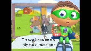 Super Why   O Rato da Cidade e o Rato do Campo   Português Brasil