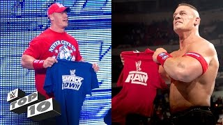 Draft Day Shockers: WWE Top 10