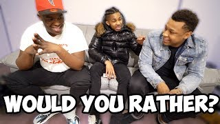 WOULD YOU RATHER??? ft. DuB, VonVon TV **HILARIOUS**